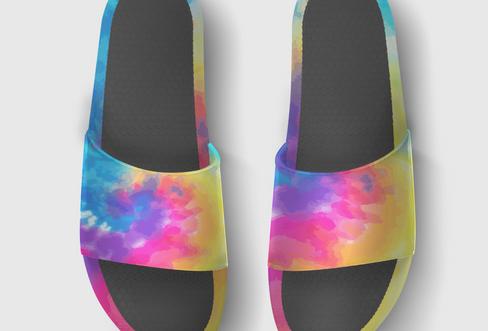 FLIP Apparel Co. | Tie Dye Slides Top
