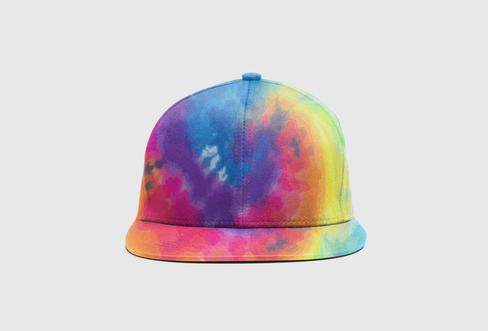 FLIP Apparel Co. | Tie Dye Hat Front