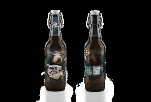 That's The Spirit | Black Russian Bear Bottle