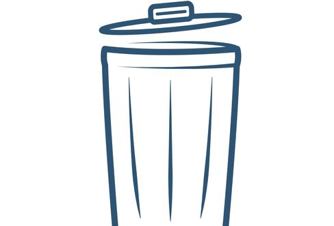 EBBP Wayfinding | Trash Bin Icon