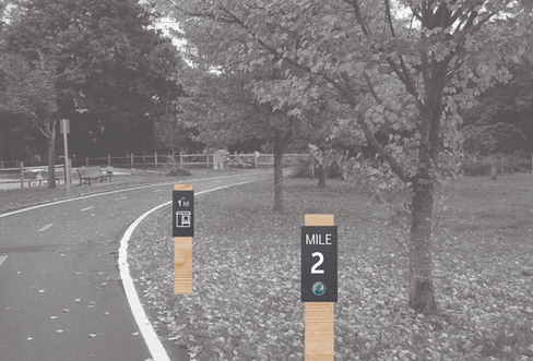 EBBP Wayfinding | Path Markers