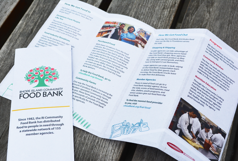 RI Food Bank | Cover and Inside Spread