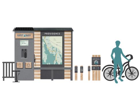 EBBP Wayfinding | Kiosk & Environmentals