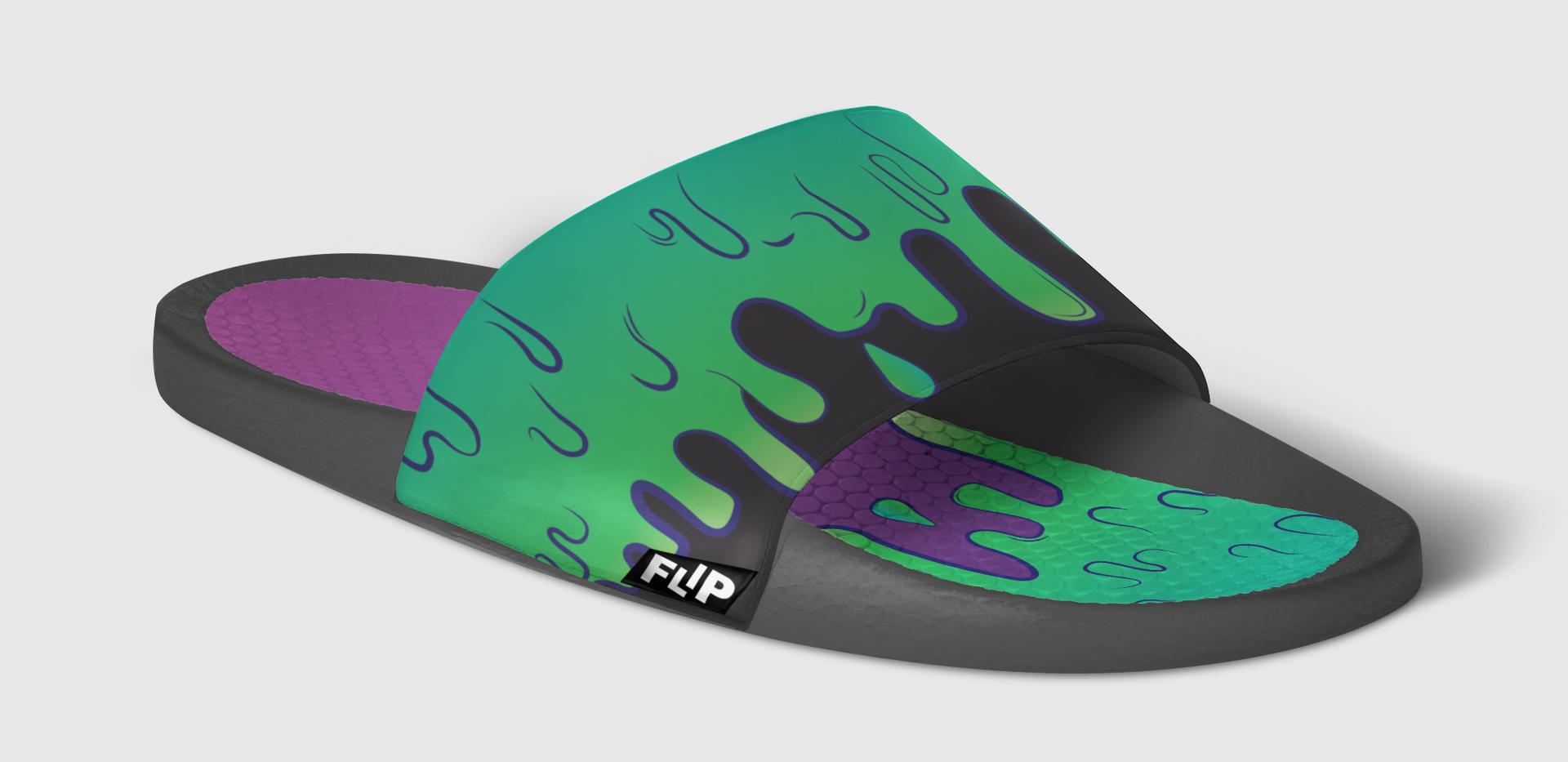 FLIP Apparel Co. | Slime Slide Side
