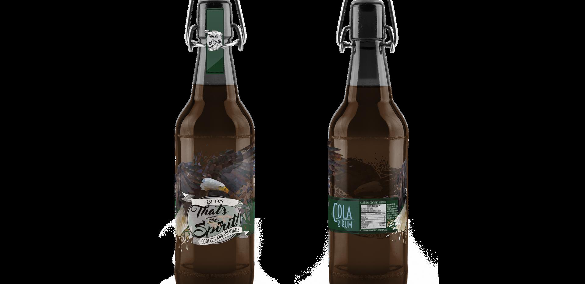 That's The Spirit | Cola & Rum Eagle Bottle