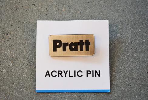 Pratt | Acrylic Pin