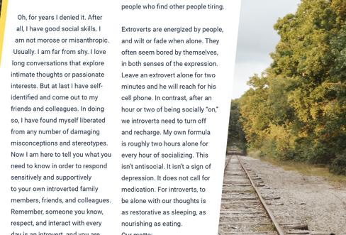 Human Editorial   Page III