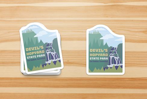 The Devil's Hopyard | Stickers