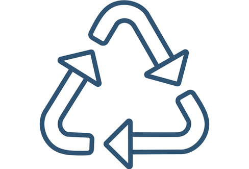 EBBP Wayfinding   Recycling Icon