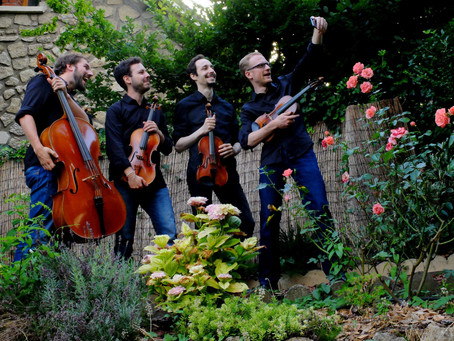 Le Quatuor Pâris au Festival Classique au Vert