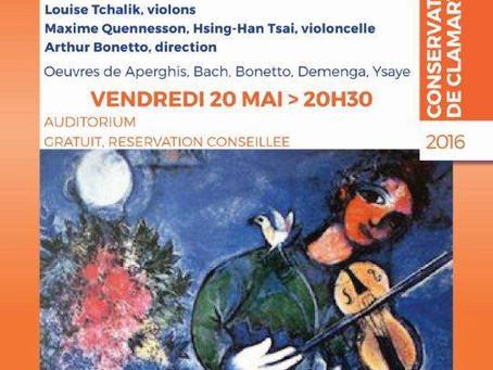Concert classique — Anciens élèves du conservatoire de Clamart, jeunes talents