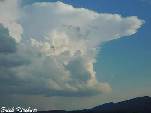 Developing Thunderstorm to the South of Cumberland, MD
