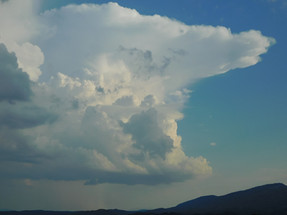 Evening Storm Towers