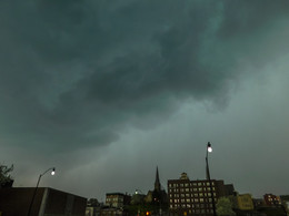 Angry Storm Skies