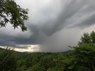 Mountain Downpour