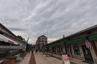 Mammatus Over Canal Place