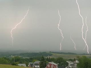 5 Image Lightning Composite