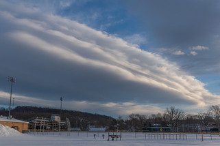 Striated and Stacked Clouds