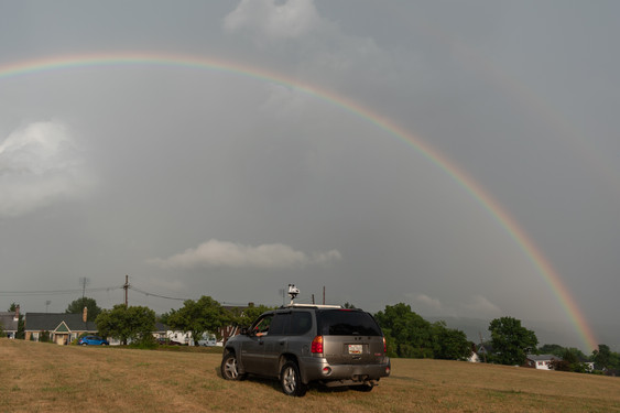 Rainbow After the Chase