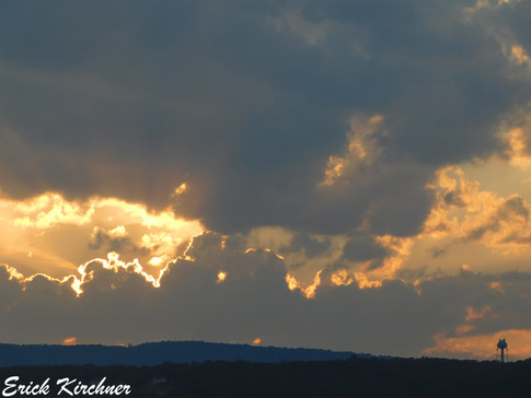 Vivid Sunset Over Cumberland, MD