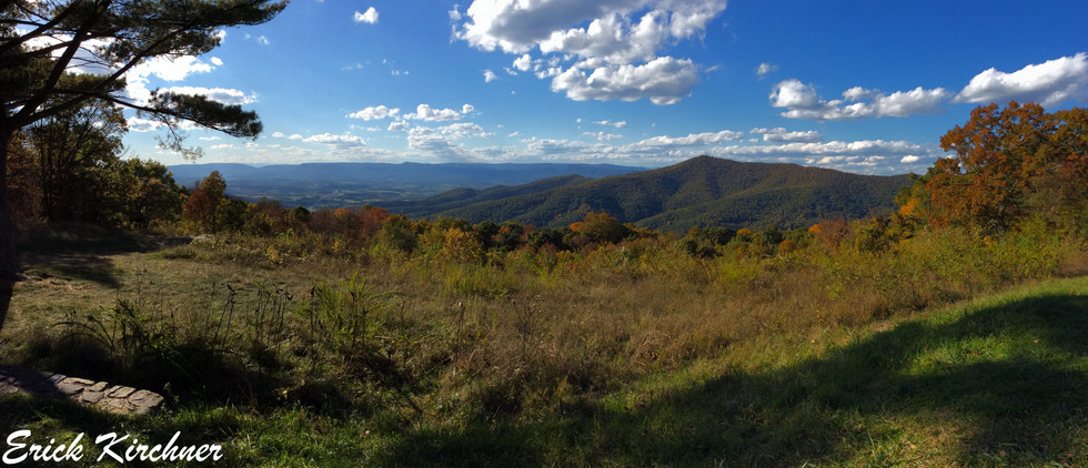 Fall Scenery From Skyline Drive