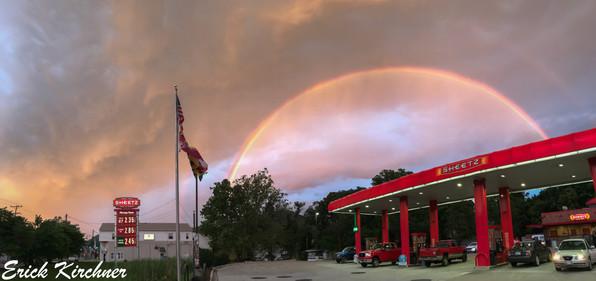 Double Rainbow Over Cresaptown, MD