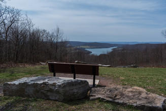Overlooking High Point Lake