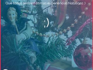 Amigos, Parceiros e leitores do nosso blog. Que todos tenham ótimas Experiências Natalinas. ;)