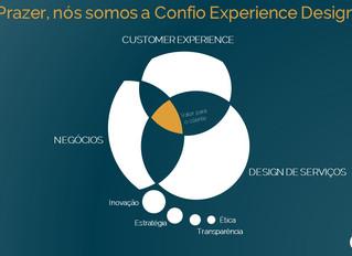Prazer, nós somos a Confio Experience Design