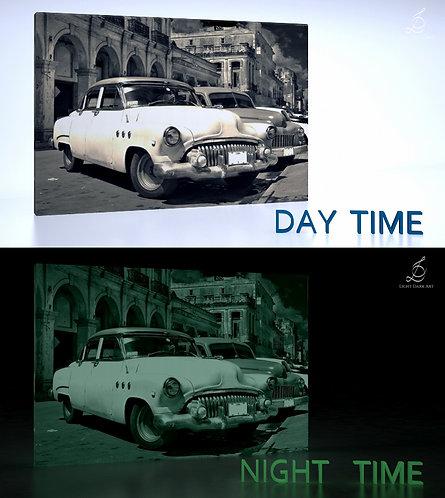 Retro cars in Cuba