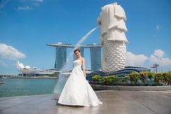 シンガポールウエディングドレス
