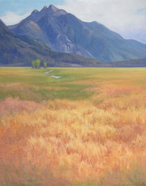 The Lay Of The Land,  20x16, oil on linen