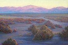 Daybreak On The Open Range, 20x30, oil on linen