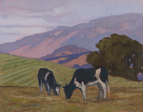 California Pastoral, 11x14, oil on linen
