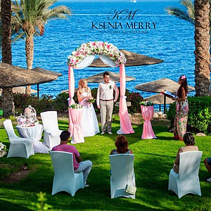Coral wedding in Grand rotana - 20 guests
