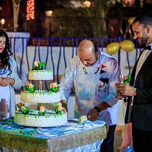 "Luxurious wedding in hotel(TV Show ""Married in Egypt"" - 100 guests"