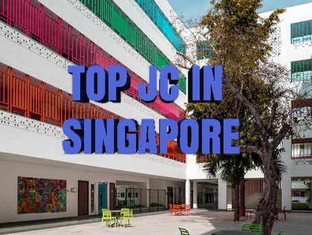 Top Singapore JC (Junior Colleges) Cut off points in 2018
