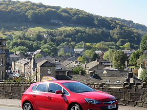 driving lessons in Hebden Bridge with Profile Driving School