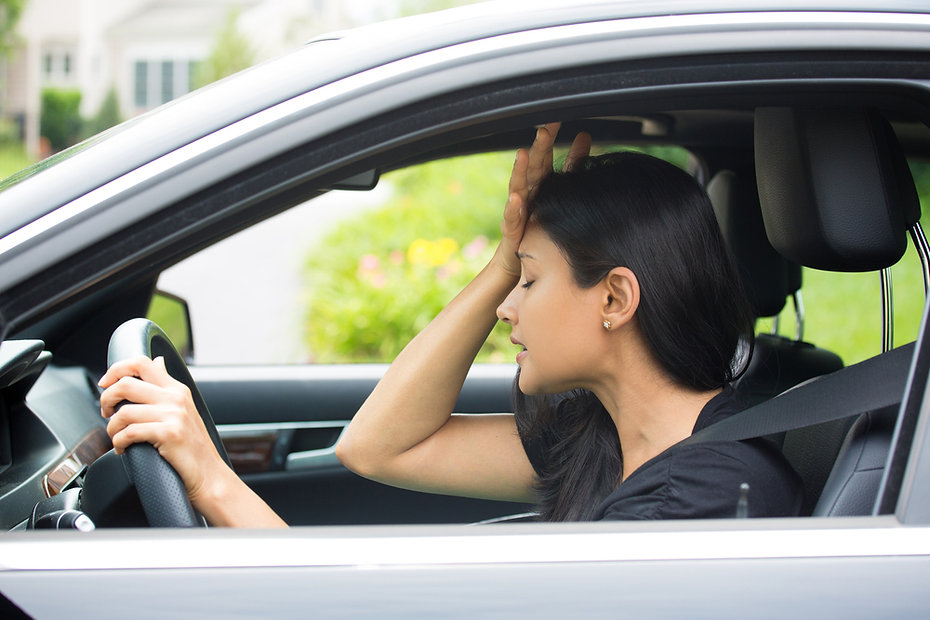 the stress of getting back to driving and refresher driving lessons