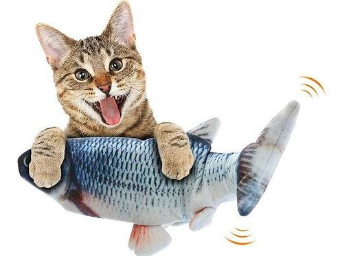 Brinquedo Para Gato Peixe Elétrico