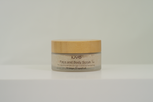 SCRUB | Face and Body | 100ml | Orange & Grapefruit