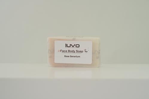 SOAP | Bath and Body | 80g | Rose Geranium