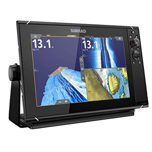 Simrad NSS evo3S 12-inch display with GPS, sounder, Wi-Fi & HDMI out.