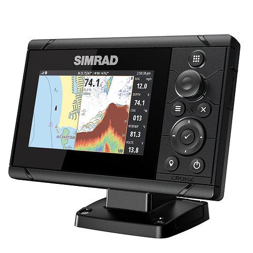 Simrad Cruise 5 Chartplotter/Fishfinder Combo with 83/200 Transducer
