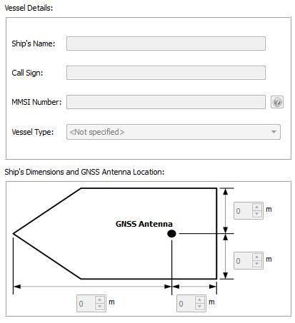 Em-trak Class B AIS programming