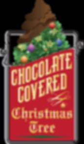 PCBC Tap Handle - CHOC COVERED XMAS TREE