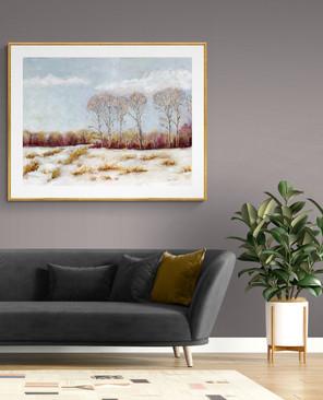 Room Snowy Meadow