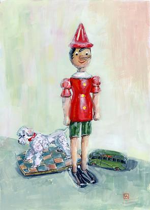 Pinocchio and China Dog