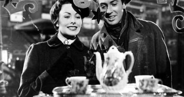 "Jeanne Crain and Farley Granger in ""The Gift of the Magi"""