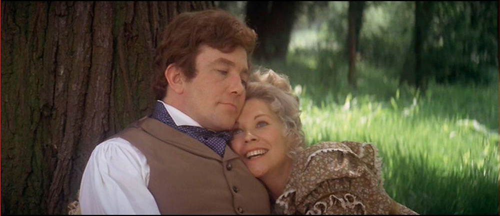 Albert Finney as young Ebenezer; Suzanne Neve as Isabel